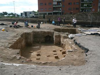Un complesso termale antico scoperto a Tor Vergata
