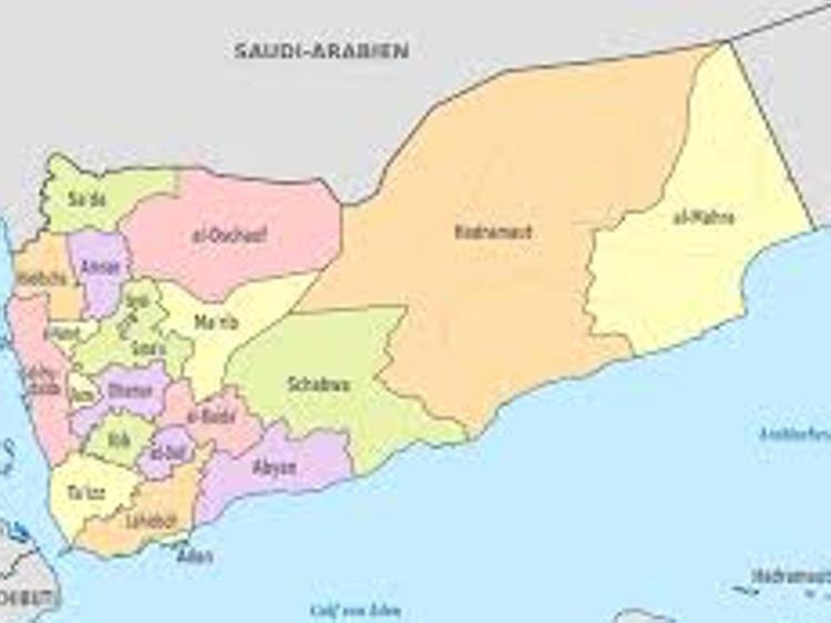 Cartina Yemen.Yemen 20mila Persone Manifestano A Sanaa Contro Ribelli Houthi