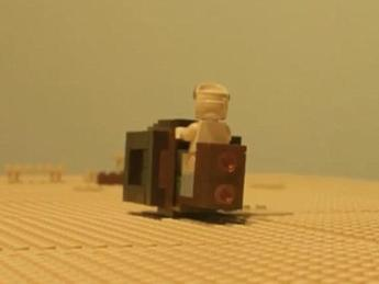Cinema: Star Wars, il trailer del nuovo episodio rifatto con i Lego