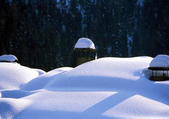 Arrivano i fiocchi al Centro-Sud, tanta neve anche a bassa quota
