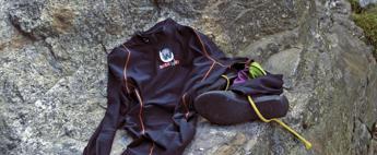 Da una start up comasca la maglietta a raggi infrarossi per fare sport in inverno