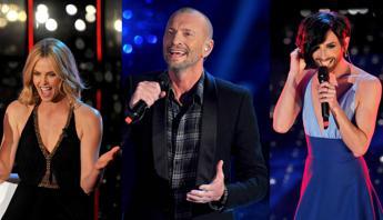 Biagio e Charlize Theron illuminano la seconda serata, Wurst sul palco nel finale