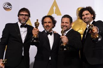 Trionfo di 'Birdman' agli Oscar, l'Italia vince con Milena Canonero /FOTO 1 /2 - VIDEO