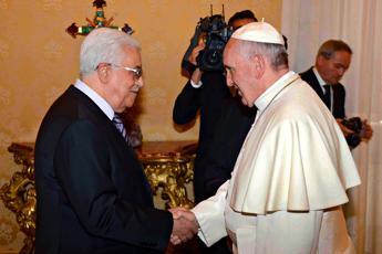 Papa ad Abu Mazen: Sei un angelo della pace. Israeliani e palestinesi prendano decisioni coraggiose