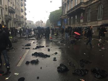 L'ex terrorista Ferrandi torna in via De Amicis, tifosi più violenti dei black bloc