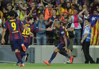 Arriva la Borsa dei calciatori, in vendita quote di Messi & co