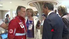 Croce Rossa presenta il suo spazio al Padiglione Italia