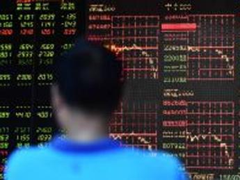 Borse Cina mai così in rosso da sette anni, Shanghai cede il 7,4%