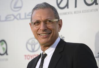 Jeff Goldblum papà per la prima volta, è nato Charlie Ocean