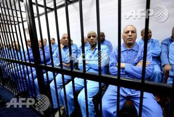 Libya's former spy chief and its ex-premier sentenced to death