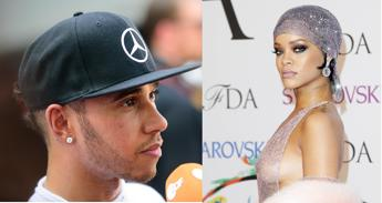 rihanna flirt lewis hamilton Lewis hamilton's dating rumors with sophia lewis hamilton spotted and dating a shirtless picture on the social media and sofia's flirting comments.