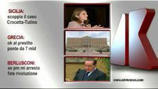 Tg Adnkronos, Sicilia: scoppia il caso Crocetta-Tutino