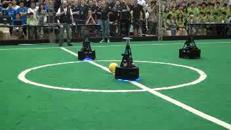 Il campionato di calcio dei robot