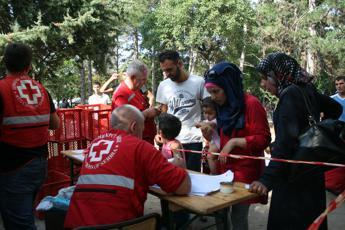 In aiuto dei profughi in Serbia, il racconto del portavoce Croce Rossa /Foto