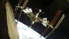 L'attracco della navicella Soyuz alla stazione spaziale internazionale