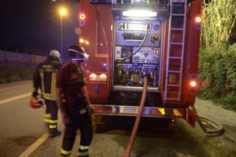 Roma, incendio in palestra: nessun ferito