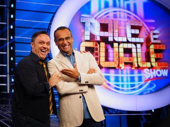 Torna 'Tale e Quale Show', Proietti in giuria e doppie 'mission impossible' per Cirilli /Video