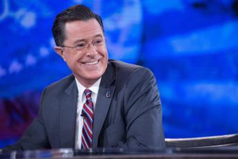 Colbert debutta al 'Late Show', al via l'era del dopo Letterman