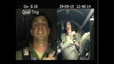 L'astronauta sottoposto a un'accelerazione di 9 volte la gravità terrestre