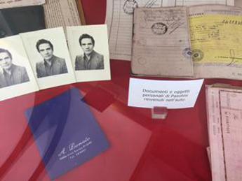 In mostra al Museo Criminologico di Roma oggetti e documenti di Pasolini /Foto