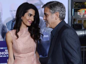 Cresce la famiglia Clooney... la coppia ha adottato una cagnolina /Guarda