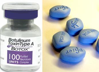 Nozze fatte tra Viagra e Botox, accordo da 160 mld di dollari