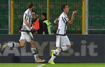 Risalita Juve, bianconeri vincono a Palermo e si portano a -4 dalla zona Champions /I gol