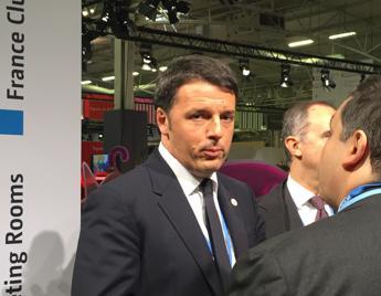 Clima, Renzi: