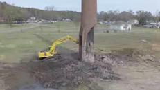 Una demolizione andata storta
