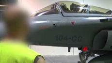 I bombardamenti dei caccia francesi contro l'Is a Raqqa