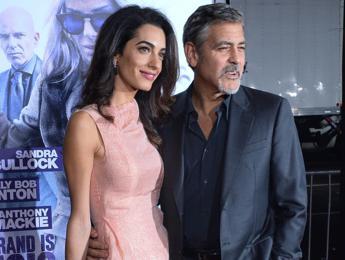 Amal è incinta, per i media Usa di gossip George Clooney presto papà