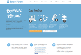 Benvenuti rifugiati, arriva in Italia piattaforma web per accogliere profughi in casa