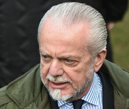"""De Laurentiis 'replica' a Sarri: """"Le decisioni arbitrali vanno rispettate"""""""