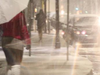 Treno di perturbazioni sull'Italia: settimana di pioggia e neve