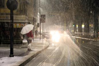 Tempesta polare sull'Italia, scuole chiuse in molti comuni del Sud