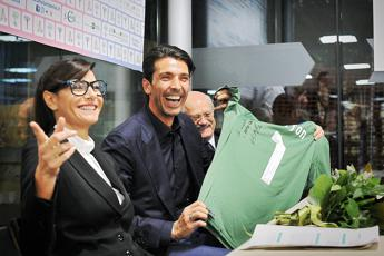 E' nato Leopoldo Mattia, il figlio di Ilaria D'Amico e Gigi Buffon