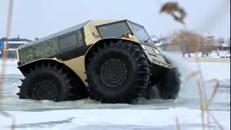 Sherp ATV, il veicolo russo in grado di andare ovunque