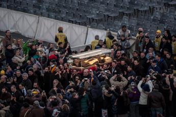 Il 'popolo' di Padre Pio a San Pietro, 80mila pellegrini in piazza