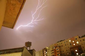 Arriva il ciclone Medusa: ponte con freddo e pioggia
