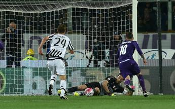 La Juve vince 2-1 a Firenze e vede lo scudetto