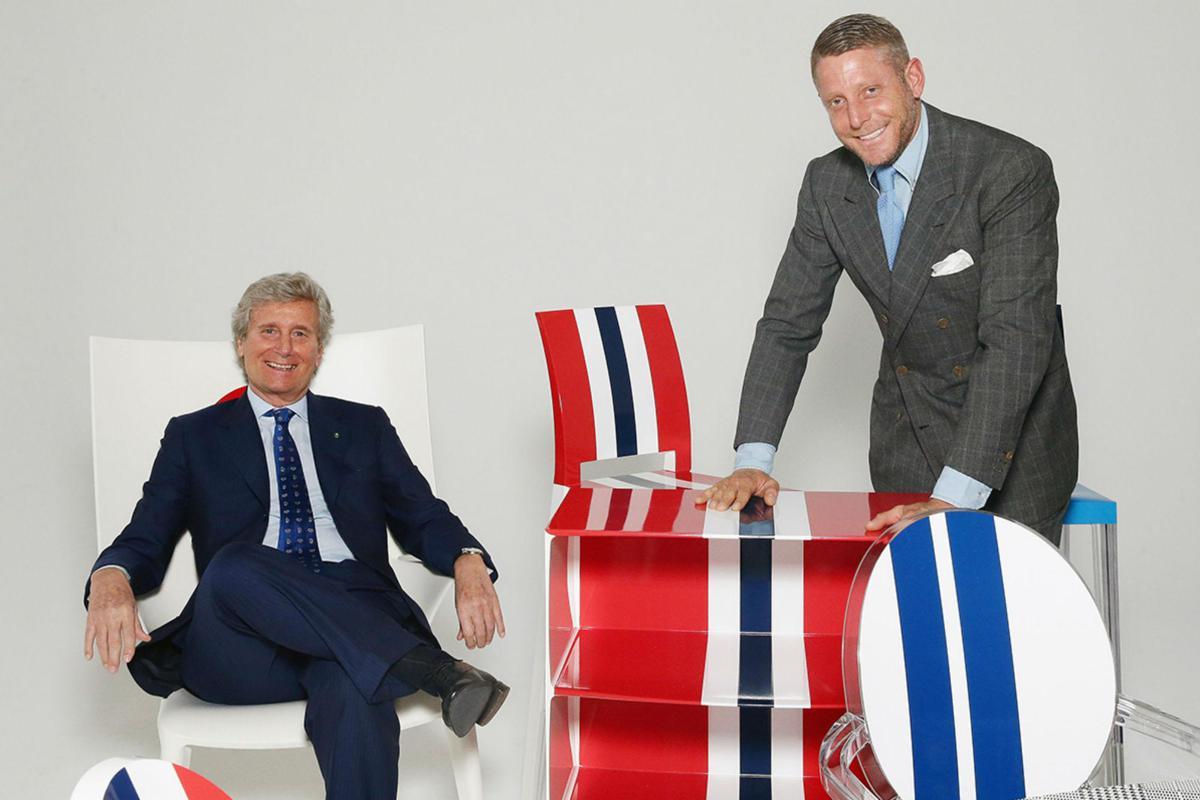 Lapo Elkann si reiventa designer di mobili