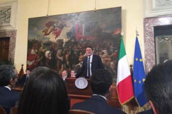Renzi: Piano banda ultralarga, entro il 2020 in tutta Italia
