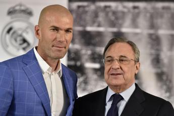 Real Madrid, Perez ha deciso di confermare Zidane per la prossima stagione