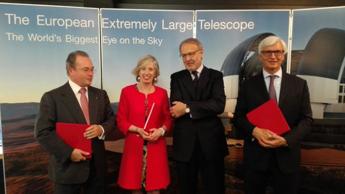 Astaldi: firma contratto per il piu' grande telescopio ottico al mondo