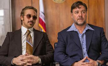 Ryan Gosling e Russel Crowe a Cannes, in 'The Nice Guys' alchimia perfetta