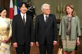 Arte a Firenze per il Principe e la Principessa del Giappone