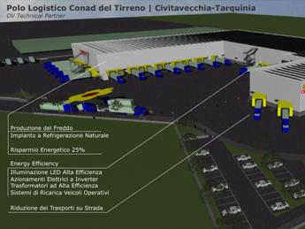 Al via polo logistico green nel Lazio