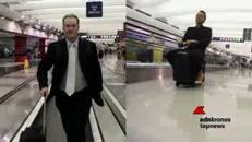 Mai più a piedi dentro l'aeroporto, arriva la valigia che ti trasporta
