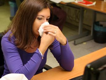 200mila italiani con tosse e mal di gola