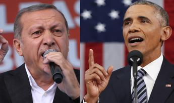 Ingannati su lotta al Pkk, Erdogan accusa Obama